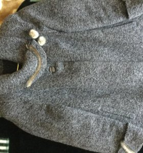 Пальто женское зимнее р. 56