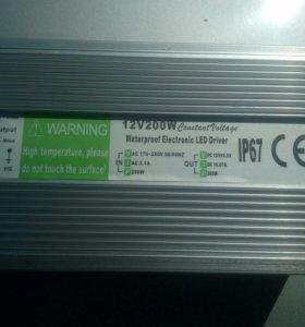 Блок питания 12V 200W