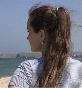 Волосы детские люкс 70 см 150 кап, 120гр