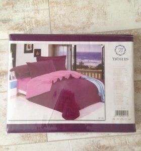 Новый комплект постельное белье сатин