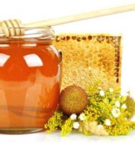 Мёд разнотравье урожай 2018 (цена указана за литр)