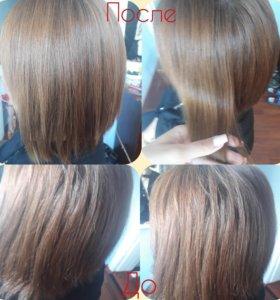 Кератин Полировка волос