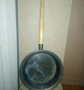 Латунный тазик, таз для варенья