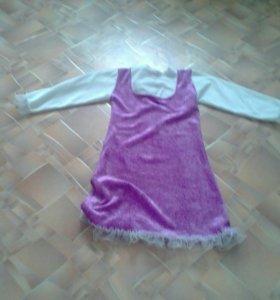 Новогодний костюм Маши
