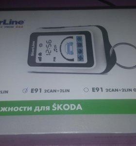 Автосигнализация StarLine E91 2CAN+2LIN