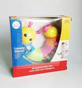 Развивающая игрушка «Гусеница» Huile Toys