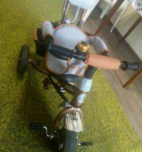 Детский трёх колёсный велосипед трансформер