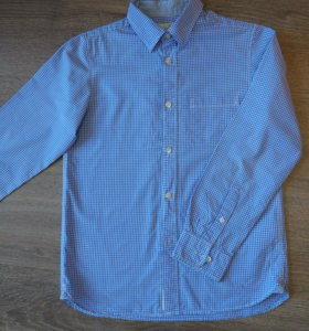 Рубашка H&M для мальчика 11-12 лет.