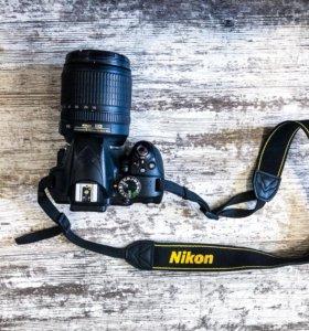 Фотоаппарат Nikon D3300 18-105