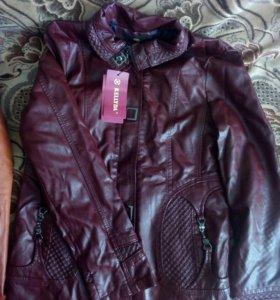 Куртки кож зам новые