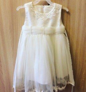 Детское платье на 2-3г