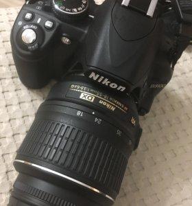 Фотоаппарат Nikon D 3100, два объектива