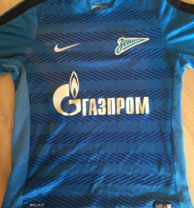 Zenit тренировочная футболка оригинал
