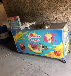 Торговый стол для приготовления сладостей !