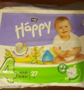подгузники Happy Bella 4