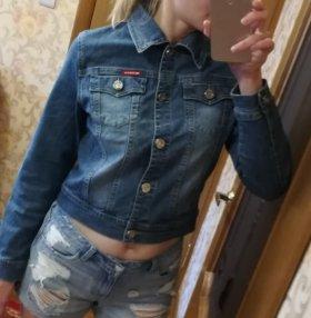 Рубашка куртка джинсовая новая