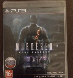 Игра для PS3 Murdered Soul Suspect