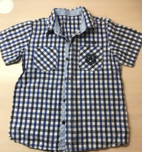 Рубашки для мальчика(рост 134-140)