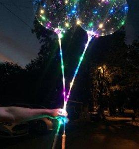 Воздушные светящиеся шары бобо #1