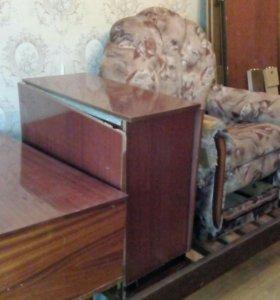 Кровать,2стола,кресло-кровать,шкаф