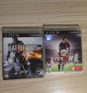Battlefield4 & Fifa 16 (PS3)