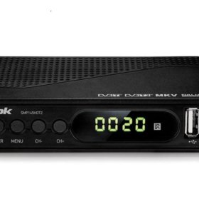 DVB-T2 приставка BBK-145 с поддержкой AC3 кодеков