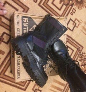 Берцы (ботинки комбинированные «ОМОН»)