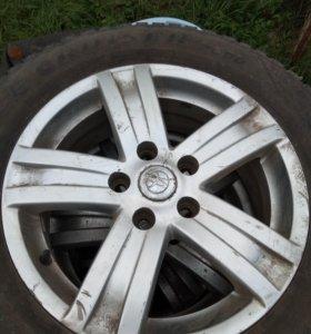 Диски и шинами цена за 4 колеса