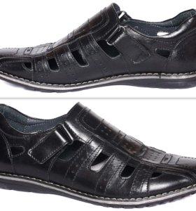 Новые школьные п/ботинки  ( нат. кожа )