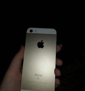Айфон 5 se золотой