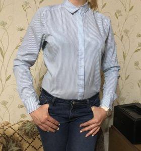 Женская рубашка в полоску H&M
