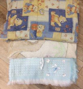 Одеяло,плед 2 шт