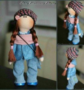 текстильная девочка