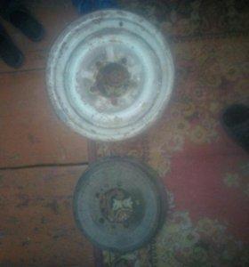 Боробан и диск на 14 волговский