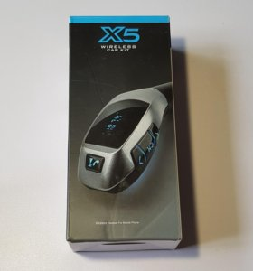 Bluetooth FM модулятор (трансмиттер) X5