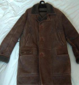 Пальто дубленое мужское