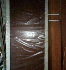 Дверь деревянная новая, в упаковке
