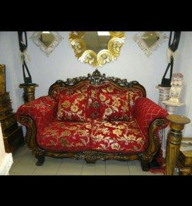 Новый диван классический на 2 человека