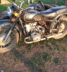 Разбор мотоцикла Днепр