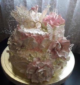 Свадебные торты и не только!!!