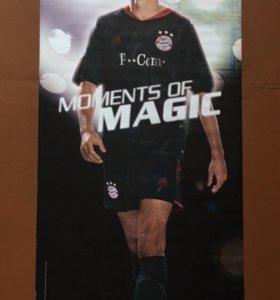 Плакат футболиста Роя Макая