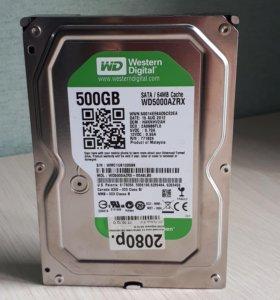 500 ГБ Жесткий диск WD Caviar Green IntelliPower