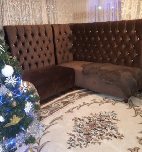 шикарный угловой диван