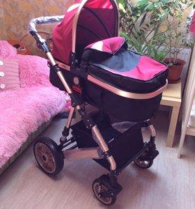 Детская коляска-трансформер 2в1
