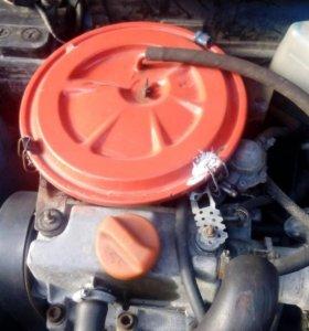 Двигатель и коробка от Оки