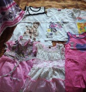 Вещи для девочки 5-6 лет
