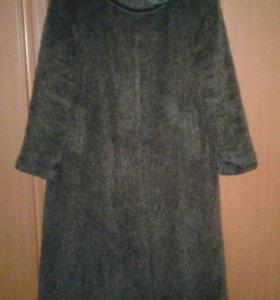Пальто демисезонное теплое