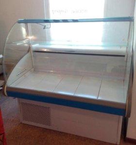 Продам стеллажи нордика и холодильную витрину