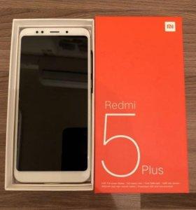 Новые Xiaomi Redmi 5 Plus 4/64Gb Global Vers Gold