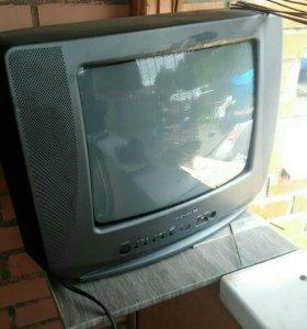 Телевизор+двд в подарок